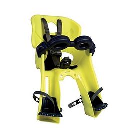 Кресло велосипедное детское Bellelli Freccia Standart B-fix желто-черное