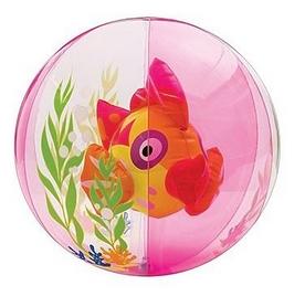 """Мяч надувной Intex 58031 """"Рыбка"""" (61 см) розовый"""