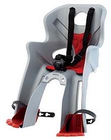 Кресло велосипедное детское Bellelli Rabbit Sportfix серебристо-красное
