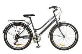 """Велосипед городской женский Discovery Prestige Woman 14G Vbr 26"""" 2017 серо-фиолетовый, рама - 17"""""""