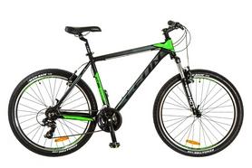 """Велосипед горный Leon HT-85 AM 14G 26"""" 2017 черно-зеленый, рама - 20"""""""