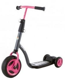 Самокат трехколесный Kettler Kids Scooter Girl черный с розовым