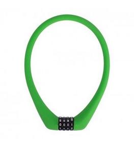 Замок велосипедный кодовый Green Cycle LCK-65-34 1,2х500 см зеленый