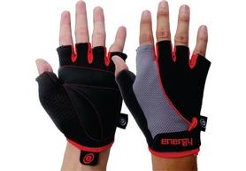 Велоперчатки Energy 7025 черно-красные
