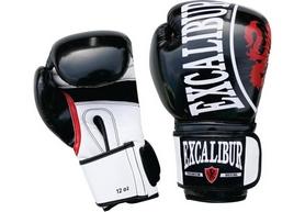 Перчатки боксерские Excalibur 8004 Black/White