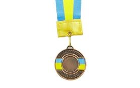 Медаль спортивная ZLT Ukraine C-3242-3 бронза