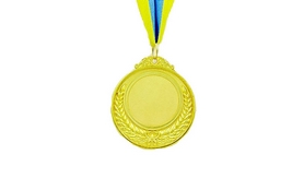 Медаль спортивная ZLT Hit C-4332-1 золотая
