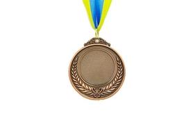 Медаль спортивная ZLT Hit C-4332-3 бронза