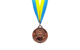 Медаль спортивная ZLT C-4842-3 бронза