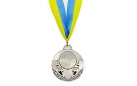Медаль спортивная ZLT Aim C-4846-2 серебро