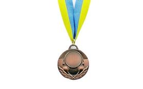 Медаль спортивная ZLT Aim C-4846-3 бронза