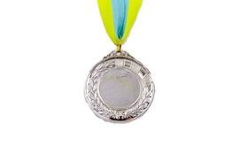 Медаль спортивная ZLT Hit C-4870-2 серебро