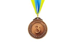 Медаль спортивная 3 место (бронза) ZLT Start C-4333-3 50 мм