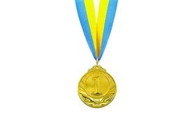 Медаль спортивная 1 место (золото) ZLT Triumf C-4871-1 50 мм
