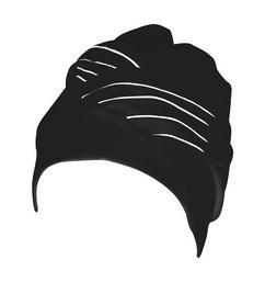 Шапочка для плавания женская Beco 7642 черная