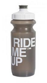 Фляга велосипедная Green Cycle Ride Me Up с Big Flow valve 600 мл серая
