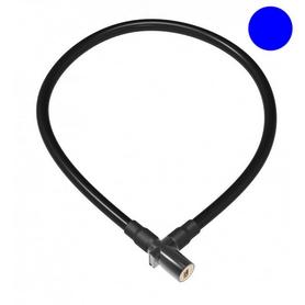 Замок велосипедный тросовый OnGuard Lightweight Key Coil Cable Lock LCK-91-23 синий
