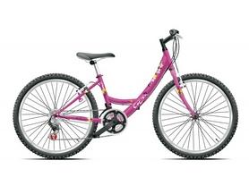 """Велосипед подростковый городской Cross Alissa 24"""" 2015 розовый, рама - 12"""""""