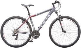 "Велосипед горный Cross GRX7 26"" 2015 серый, рама - 18"""