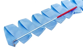 Лента гимнастическая ZLT С-3249 3,3 м голубая