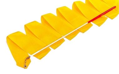 Лента гимнастическая ZLT С-3249 3,3 м оранжевая