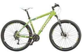 """Велосипед горный Cross GRX 8 M 27.5"""" 2015 зеленый, рама - 18"""""""