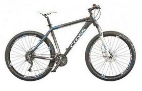 "Велосипед горный Cross GRX 9 27.5"" 2015 серый, рама - 18"""