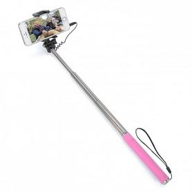 Монопод для селфи со шнуром UFT 3G Compact Pink