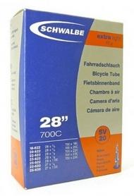 "Камера велосипедная Schwalbe SV20 28"" (18/25x622/630) 60 мм Extra Light EK"