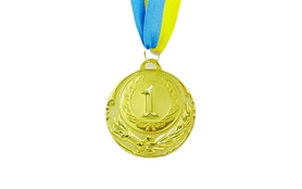Медаль спортивная ZLT Zing C-4329-1 золото