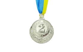 Медаль спортивная ZLT Zing C-4329-2 серебро
