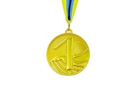 Медаль спортивная ZLT Furore C-4868-1 золото