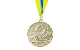 Медаль спортивная ZLT Furore C-4868-2 серебро