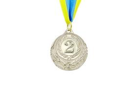 Медаль спортивная ZLT Zing C-4334-2 серебро
