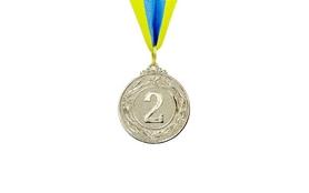 Медаль спортивная ZLT Glory C-4335-2 серебро