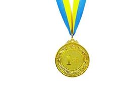 Медаль спортивная ZLT Glory C-4327-ANG(1) золото