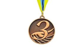 Медаль спортивная ZLT Furore C-4868-3 бронза