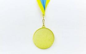 Фото 2 к товару Медаль спортивная ZLT Футбол C-3975-1 золото
