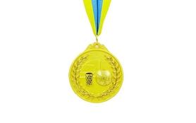 Медаль спортивная ZLT Баскетбол C-4849-1 золото