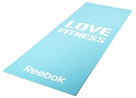 Мат для фитнеса Reebok Love Fitness Blue