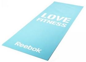 Мат для фитнеса Reebok Love Fitness Blue