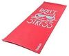Коврик для йоги (йога-мат) Reebok Don't Stress RAYG-11030DS красный - фото 1