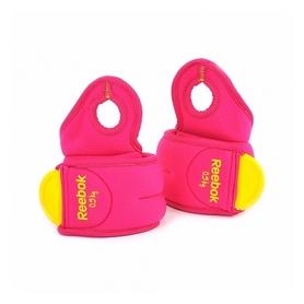 Утяжелители-манжеты Reebok 2 шт по 0,5 кг розовые