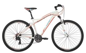 """Велосипед горный женский Pride Roxy 7.1 27,5"""" белый/коралловый/бирюзовый 2017, рама - 16"""""""