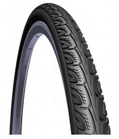 """Покрышка велосипедная Mitas (Rubena) 26"""" x 1"""" 3/8"""" 37x590 Hook V69 Classic 22 черная"""
