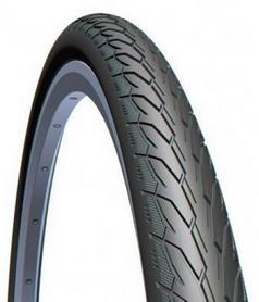"""Покрышка велосипедная Mitas (Rubena) 28"""" x 1.1/4x1.3/4"""" 32x622 Flash V66 Classic черная"""