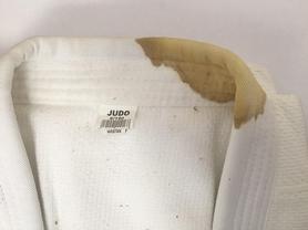 Фото 2 к товару Кимоно для дзюдо Combat Budo белое + пояс в подарок, размер - 190 см - уцененное*