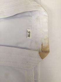 Фото 4 к товару Кимоно для карате Сombat Budo белое, размер - 190 см - уцененное*