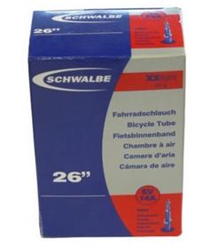 "Камера велосипедная Schwalbe SV14A 40 мм XXlight EK 26"" (40/54x559)"