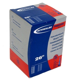 """Камера велосипедная Schwalbe SV13F 40 мм Freeride EK 26"""" (54/75x559)"""